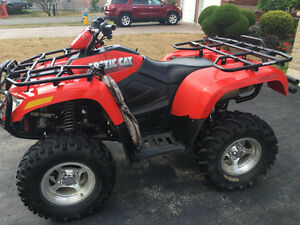 ARCTIC CAT 650 H1 ATV - LOW KILOMETRES AND IMMACULATE