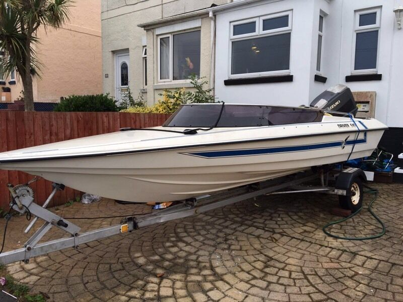 Speedboat Driver 510in Paignton, DevonGumtree - Reluctantly selling our amazing boat. This boat has brought us nothing but fun! Its been reliable and truly amazing for family days out on the sea!Selling due to needing a larger boat. In working order and can be seen. Boat age 1989/90Engine 115/...