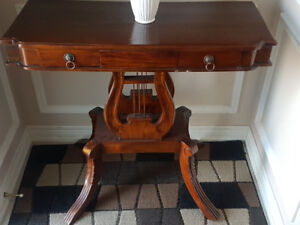 Solid Wood Accent Console Table selling for $150 or best offer!