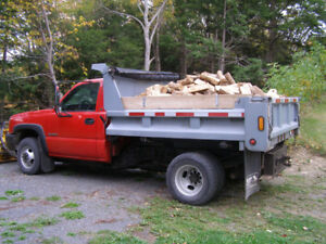Firewood and gravel forsale