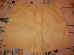 Shorts dame taille 8 ans
