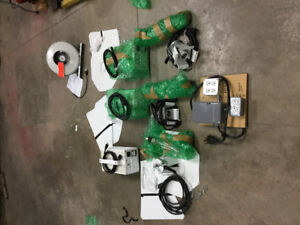 Indoor hydro growing equipment - ballast, lights, wires, fan