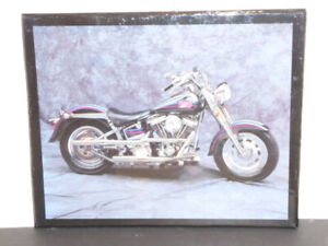 LARGE MOTORCYCLE WALL PICTURE WITH A GLOSSY FINISH