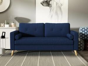 Three - seat sofa for $299, FIVE COLORS AVAILABLE