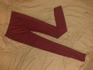Burgundy silky tights London Ontario image 1