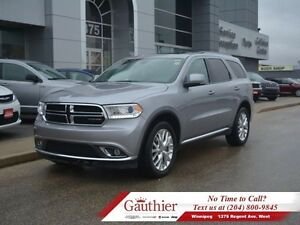 2016 Dodge Durango Limited AWD w/Sunroof