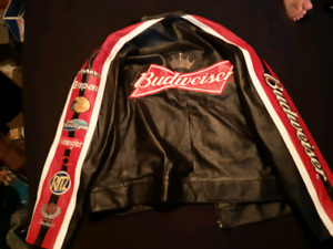 Budweiser leather jacket