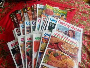 Recipe/home ideas magazines