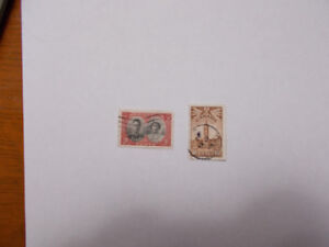 2 - 1939 and 1942 Canadian Stamps