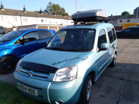 Swap Citroen Berlingo multispace desire camper van