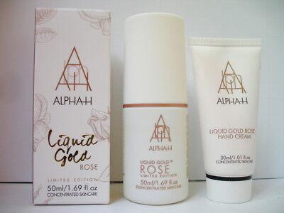 Alpha H Liquid Gold ROSE Fluid & Alpha H Liquid Gold ROSE Hand Cream Limited Ed.