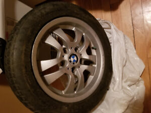 BMW RIMS/WINTER TIRES 205/55/R16