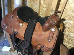 17 Western Saddle, Excellent Condition