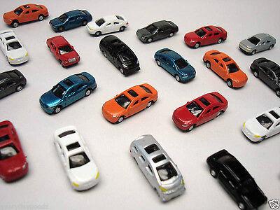B53 Z- 50 Stück Autos BMW Mercedes Opel ca. 1:200 - 1:220 Set