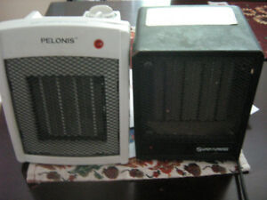 two space heaters
