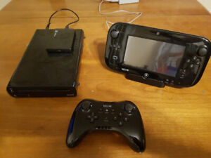 Modded Wii U with Pro Controller, $275
