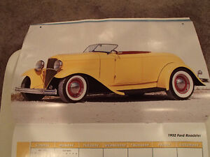 2000 DREAM MACHINES Car 16 Month CALENDAR. Issued by HUCK Fasten Sarnia Sarnia Area image 5