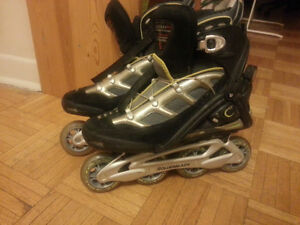 Roller blades for adults, size 11. Good conditions.