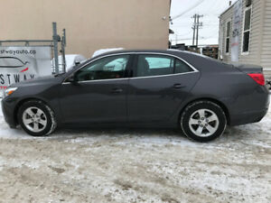 2013 CHEVROLET MALIBU LT 167551 KMS LEATHER BLUETOOTH !