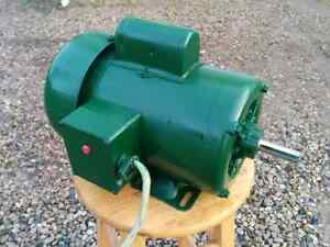 1 HP Totally Enclosed Electric Motor (Gould Century) London Ontario image 4