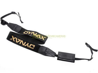 Minolta tracolla larga originale per fotocamere Dynax con portaschede.