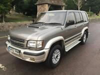 2002 02 ISUZU TROOPER LS 3.0 TURBO DIESEL 4x4 AUTO 7 SEATER