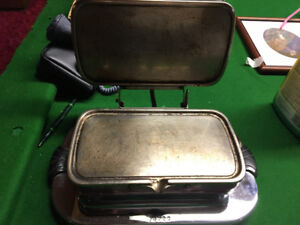 Antique toaster or press