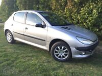 AUTOMATIC PEUGEOT 206 - 1 YEARS MOT - ONLY 82,000 MILES