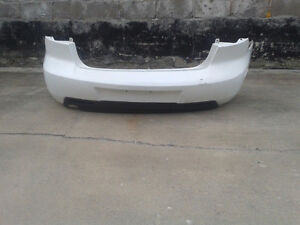Used factory rear bumper from a 2004-09 Mazda 3 (BP0200)