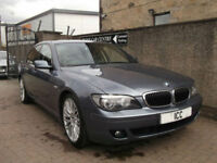 "07 07 BMW 730D SPORT 3.0 DIESEL 4DR AUTO 20"" ALLOYS SATNAV LOW MILEAGE BODYKIT"