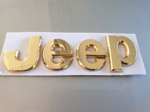 Jeep gold emblem Sorrento Joondalup Area Preview