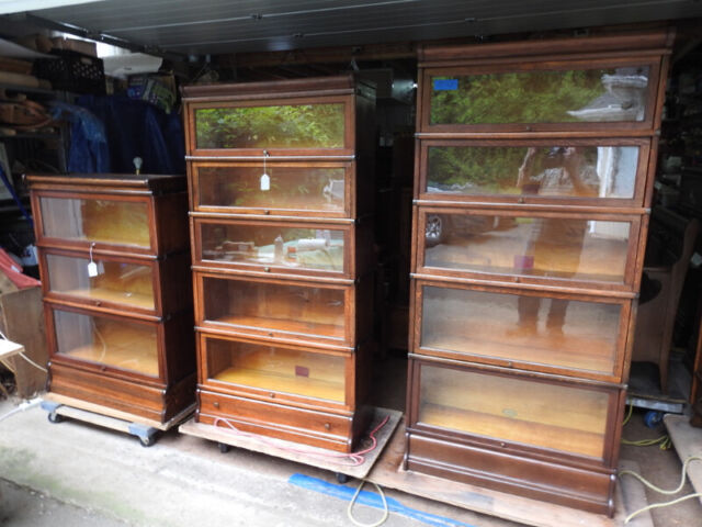 Antique Barrister Bookcases 2 3 And 4 Levels Sections