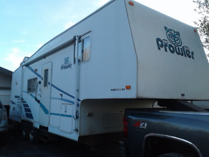 2001 prowler 5th wheel for sale 28.5 ft