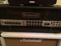 Brunetti 120watt Guitar Amp Head