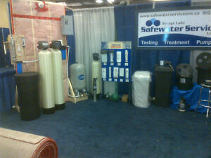 Reverse Osmosis, UV Disinfection, Iron Filters, Softeners