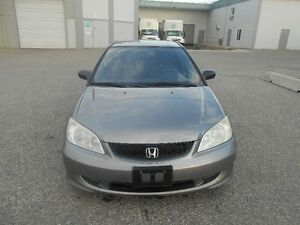 2005 Honda Civic 5 Speed 145000KMS New Winter Tiers