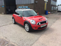 2006 56 MINI 1.6 COOPER S,ONLY 86000 MILES WITH SERVICE HISTORY