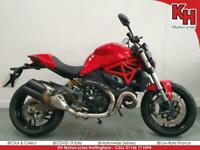 Ducati Monster 821 Red 2017 - Brembo Brakes, FSH, 3-Level ABS, Traction Control