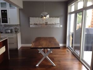 Custom Dining Tables or Make your own! - WOODONSTEEL.COM