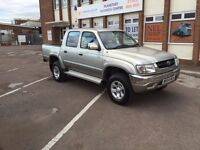 Toyota hilux pickup 4 wheel drive d4d low mileage fully loaded