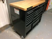 KRA4813FPC Snapon Tool box roll cab chest wooden top