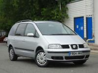 7 SEATER Seat Alhambra 1.9TDI PD 2005 SX +CAMBELT DONE+11 SERV STAMPS+1 LADY OWN