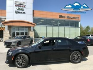 2017 Chrysler 300 S  S MODEL, BLUETOOTH, LEATHER HEATED, DUAL RO