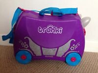Penelope Princess Carriage Trunki Ride-On Suitcase & more!