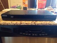 Blue ray DVD player and surround sound