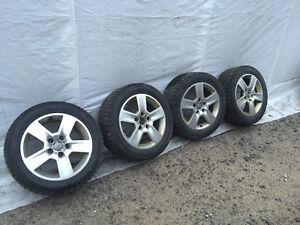 Mag 16 pouces pour Audi A4 avec pneus d'hiver Toyo. Gatineau Ottawa / Gatineau Area image 1