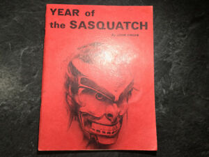 Year of the Sasquatch by John Green 1970 Bigfoot Sightings B.C