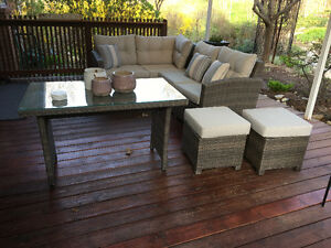 Patio Sectional and Table