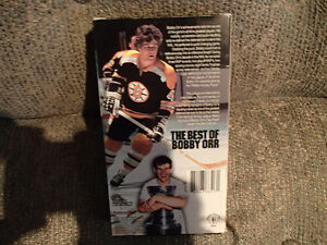 THE BEST OF BOBBY ORR - VHS TAPE - LIKE NEW Sarnia Sarnia Area image 2