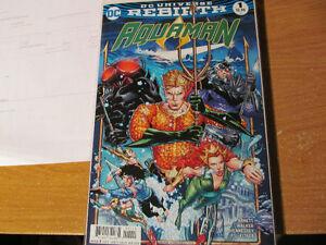 DC Universe Rebirth: Aquaman #1 Regular & Variant Cover